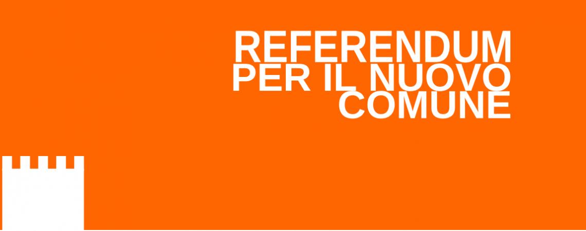 13 aprile 2014 – Referendum fusione dei comuni
